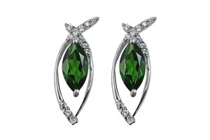 chrome-diopside-earrings