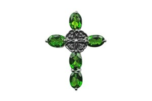 chrome-diopside-pandent