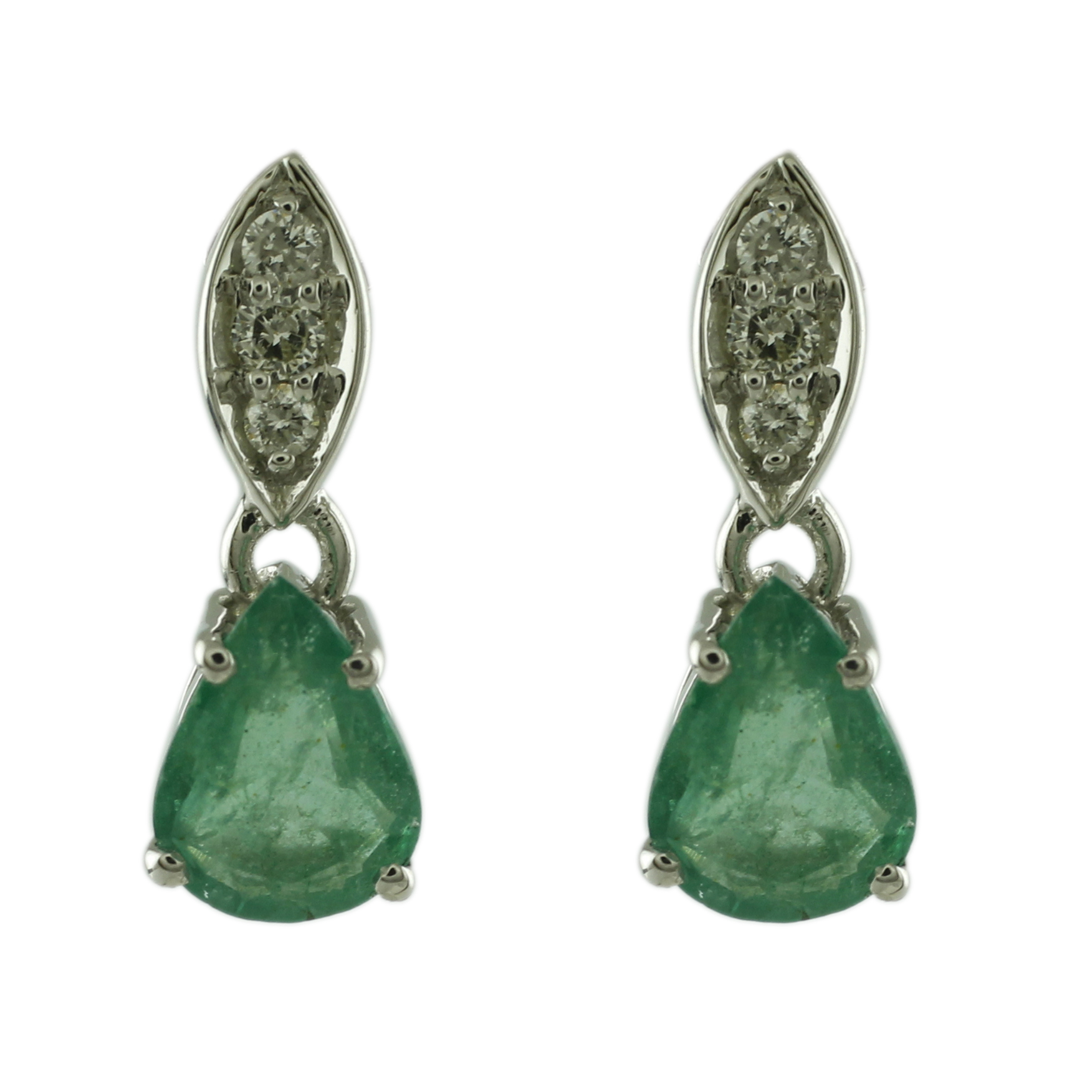 Emerald Ring ~Sterling Silver /& 14K Gold~ Handmade wNatural Emerald